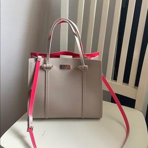 Kate Spade beige/pink purse